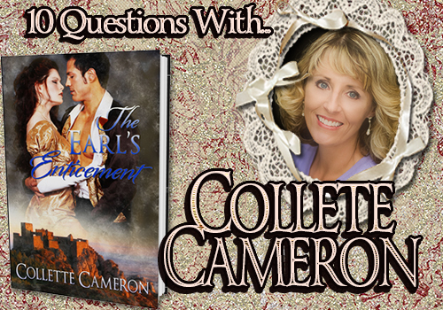 INTERVIEW: 10 Questions With…Collette Cameron!