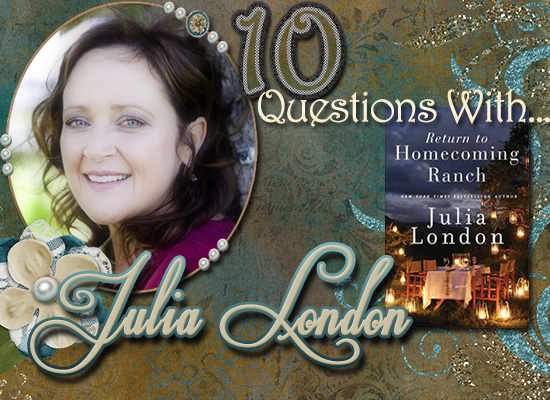 INTERVIEW: 10 Questions With…Julia London