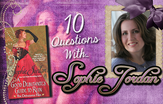 INTERVIEW: 10 Questions With… Sophie Jordan!