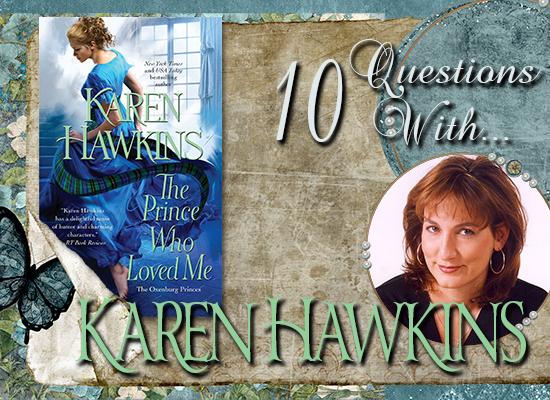INTERVIEW: 10 Questions With… Karen Hawkins