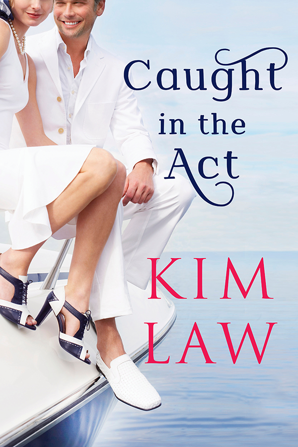 GUEST BLOG: Kim Law's CAUGHT IN THE ACT