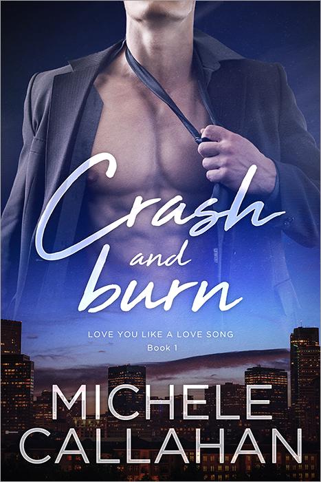 Cover Crash and Burn by M Callahan