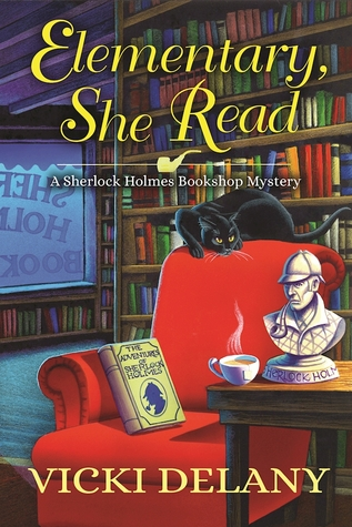 3.5 STAR REVIEW: ELEMENTARY, SHE READ by Vicki Delany
