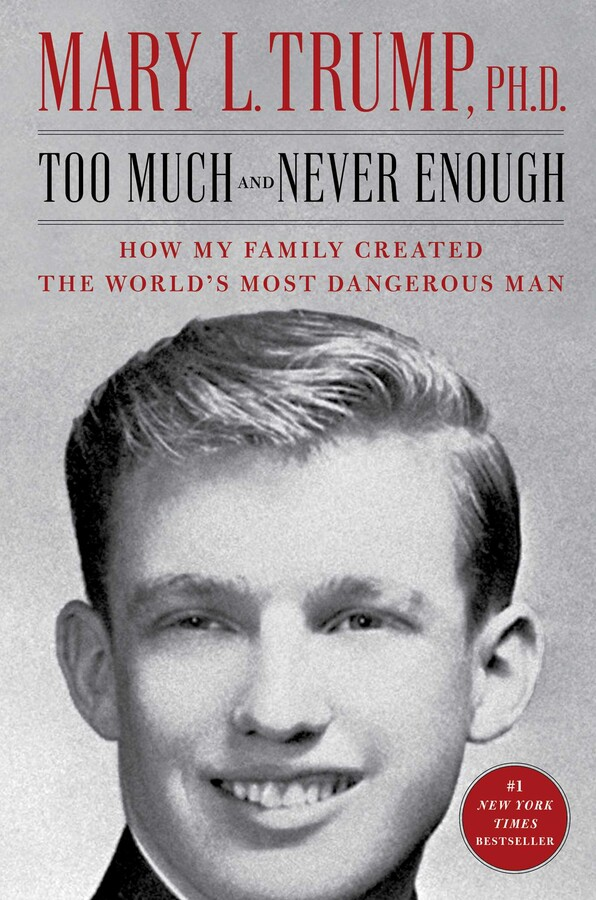 NEW RELEASE: TOO MUCH AND NEVER ENOUGH by Mary L. Trump PhD