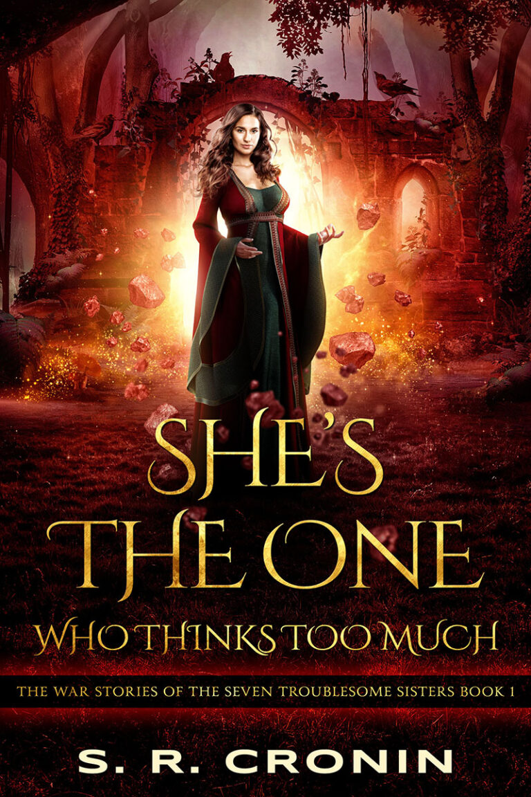 BOOK BLAST: SHE'S THE ONE WHO THINKS TOO MUCH by S.R. Cronin