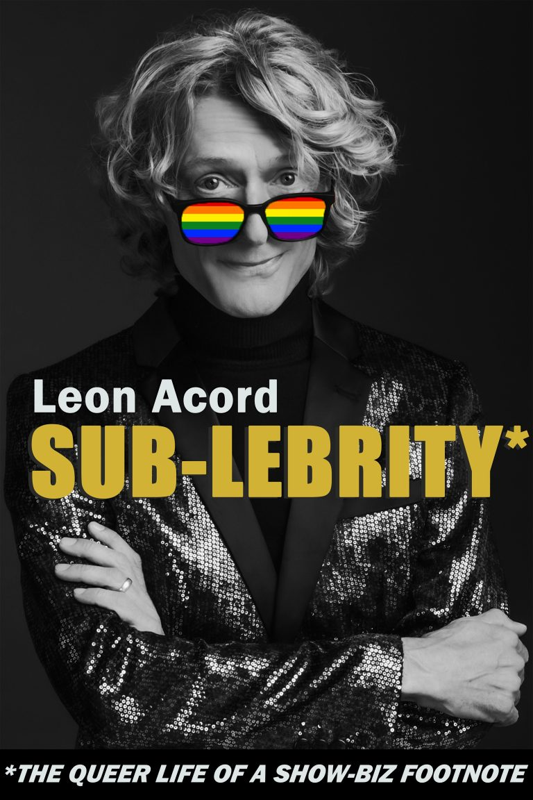 INTERVIEW: Leon Acord Author of SUB-LEBRITY and Giveaway!