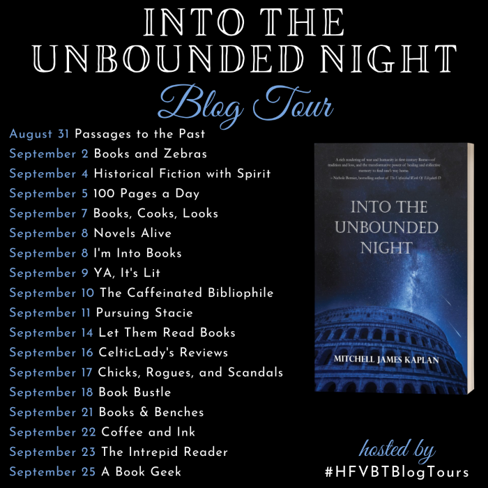 Into the Unbounded Night Blog Tour Banner
