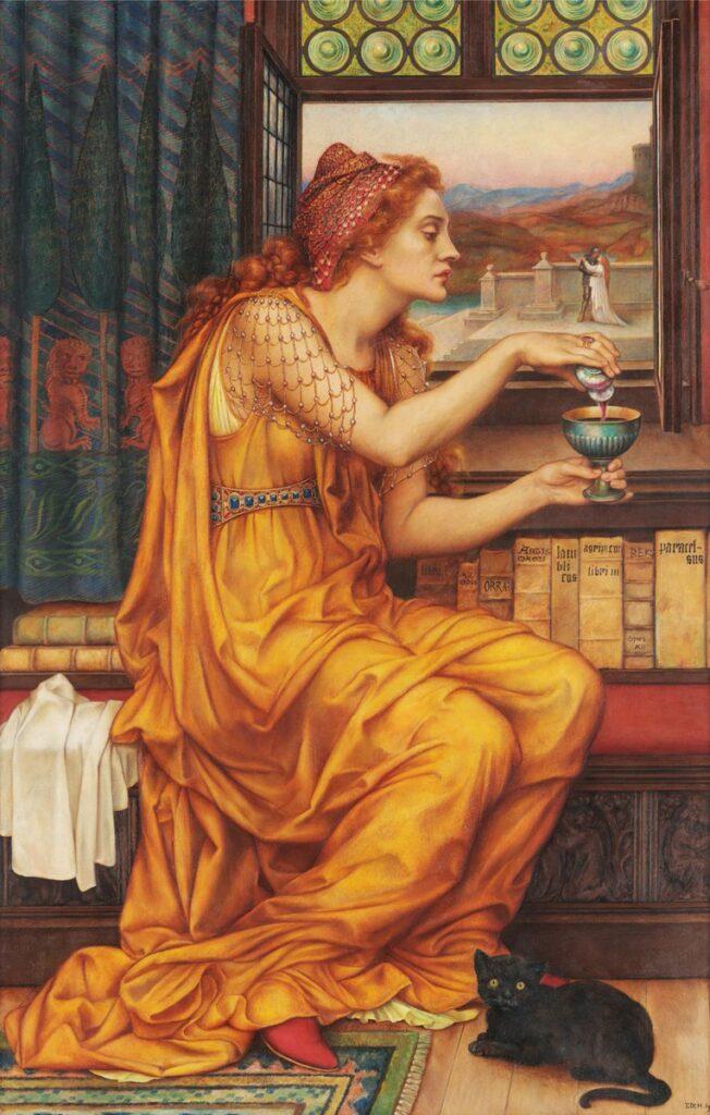 The Love Potion by De Morgan