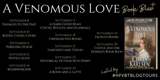 A Venomous Love Book Blast Banner