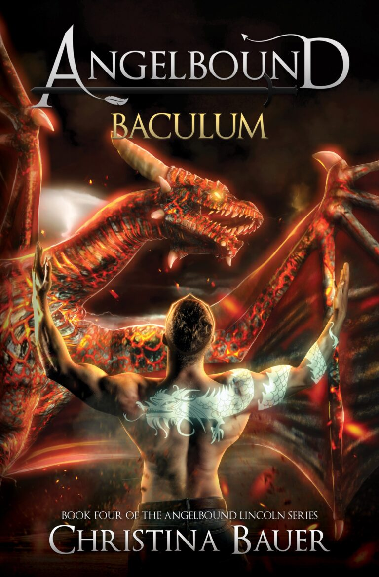 COVER REVEAL: BACULUM by Christina Bauer and Giveaway