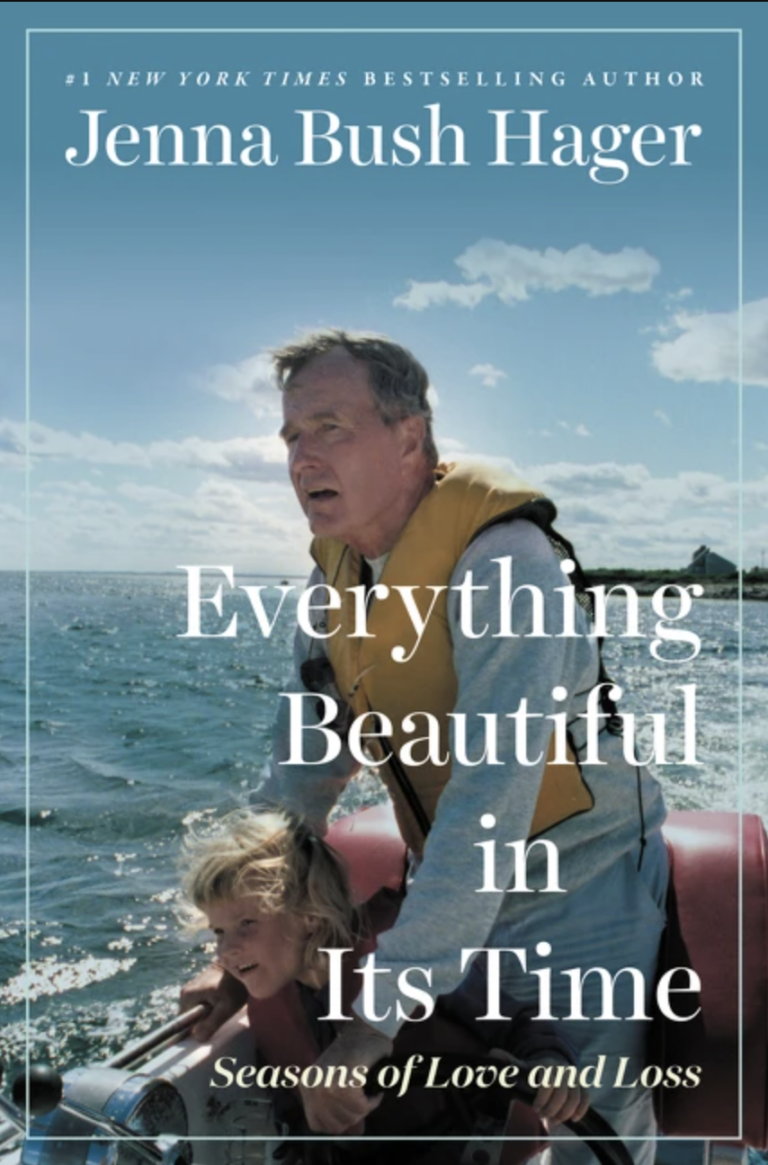 NEW RELEASE: EVERYTHING BEAUTIFUL IN ITS TIME By Jenna Bush Hager