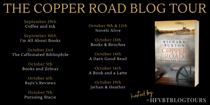 The Copper Road Blog Tour Banner