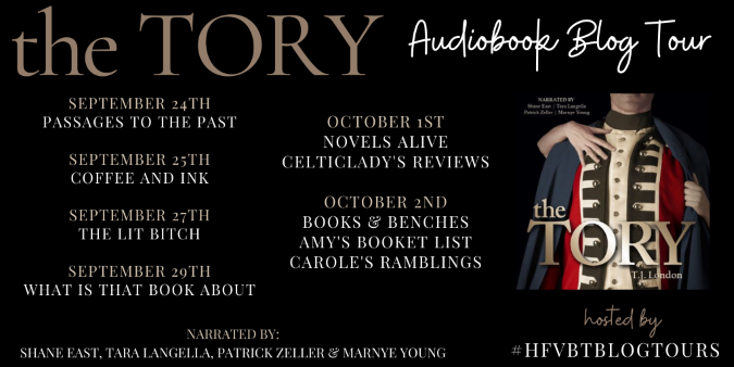 The Tory AudioBook Tour Banner