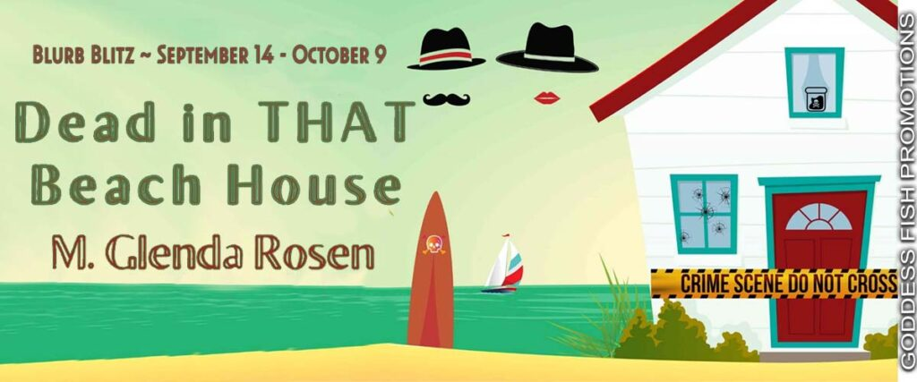 Dead in THAT Beach House - Tour Banner