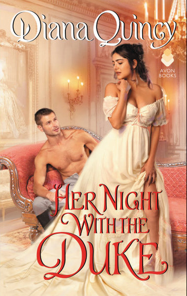5 STAR REVIEW: HER NIGHT WITH A DUKE by Diana Quincy