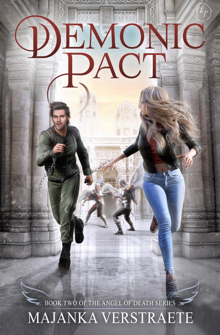COVER REVEAL: DEMONIC PACT by Majanka Verstraete