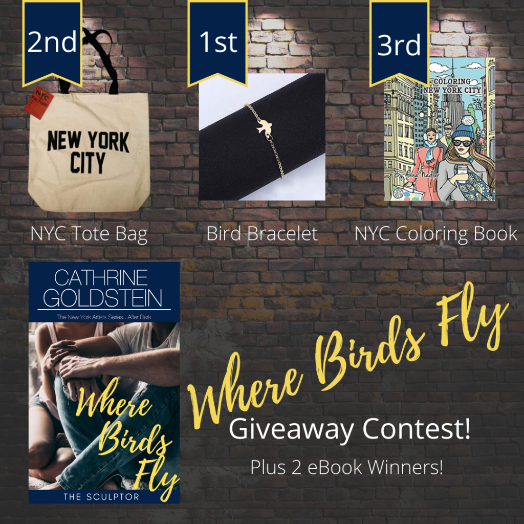 Giveaway Contest - Where Birds Fly
