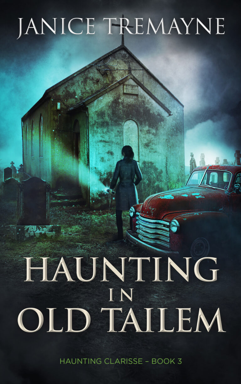 BOOK BLAST: HAUNTING IN OLD TAILEM by Janice Tremayne