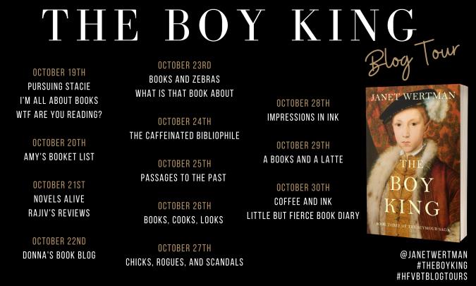 The Boy King Blog Tour Banner