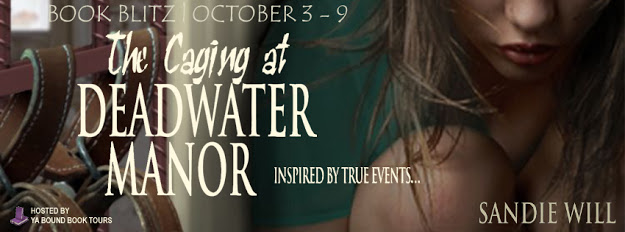 The Caging at Deadwater Manor Tour Banner