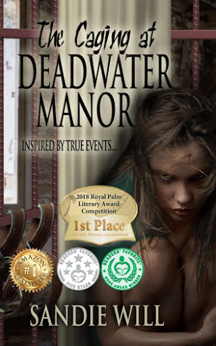 BOOK BLAST: THE CAGING AT DEADWATER MANOR by Sandie Will