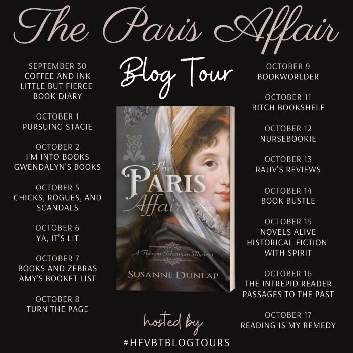 The Paris Affair Blog Tour Banner
