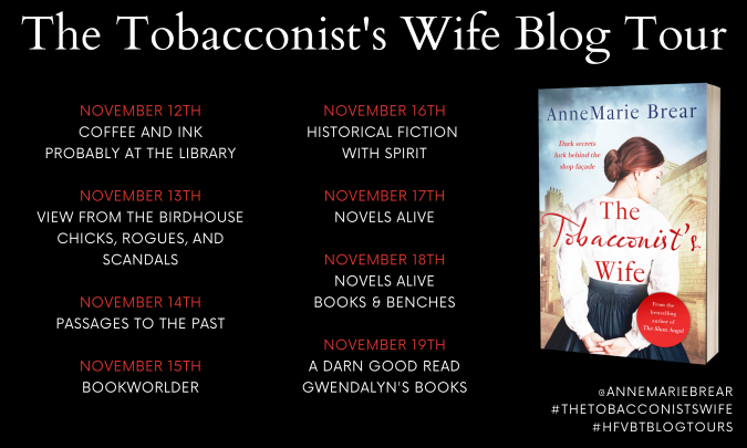 The Tobacconist's Wife Blog Tour Banner
