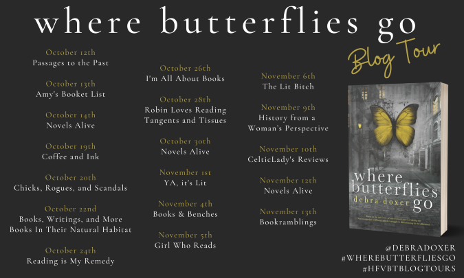 Where Butterflies Go Blog Tour Banner