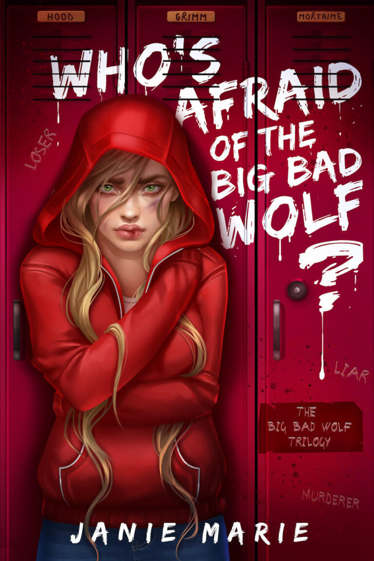 COVER REVEAL: WHO'S AFRAID OF THE BIG BAD WOLF? by Janie Marie
