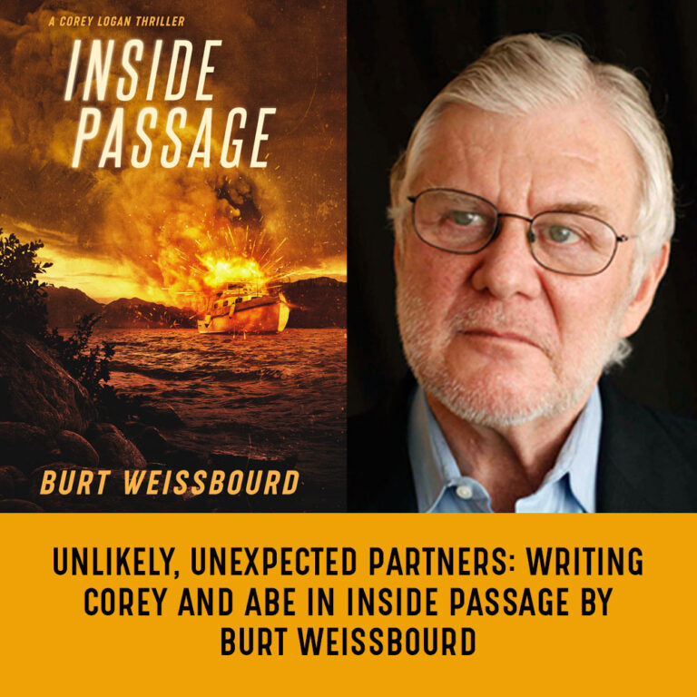 GUEST BLOG: Unlikely, Unexpected Partners: Writing Corey and Abe In INSIDE PASSAGE by Burt Weissbourd