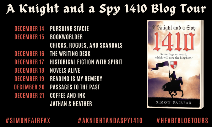 A Knight and a Spy 1410_Blog Tour Banner