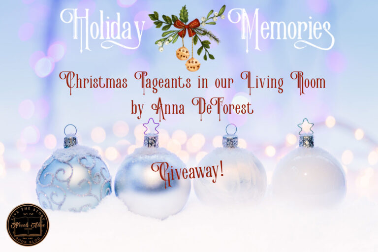HOLIDAY MEMORIES: Christmas Pageants in our Living Room by Anna DeForest