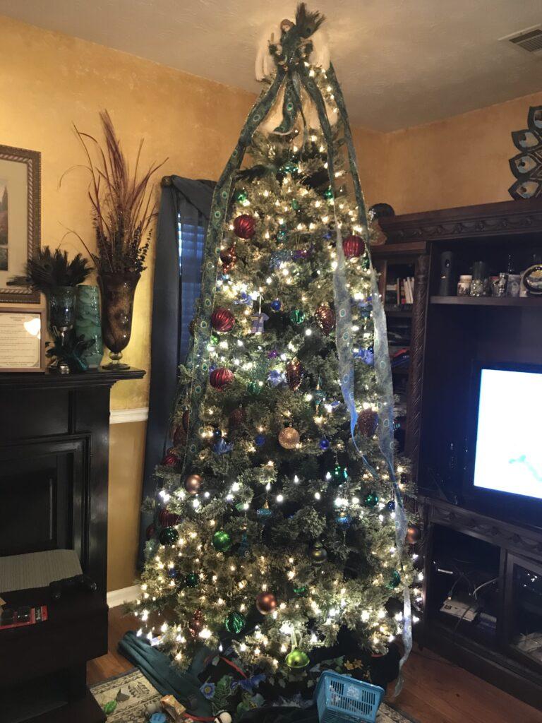 Christmas Tree Broken Leg