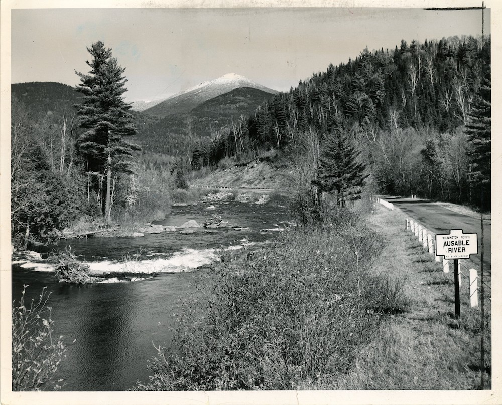 Whiteface from Wilmington Notch, 1964 Press Photo