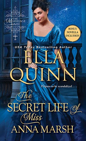 4 STAR REVIEW: THE SECRET LIFE OF MISS ANNA MARSH by Ella Quinn