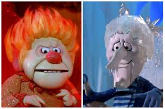Snow Miser Heat Miser