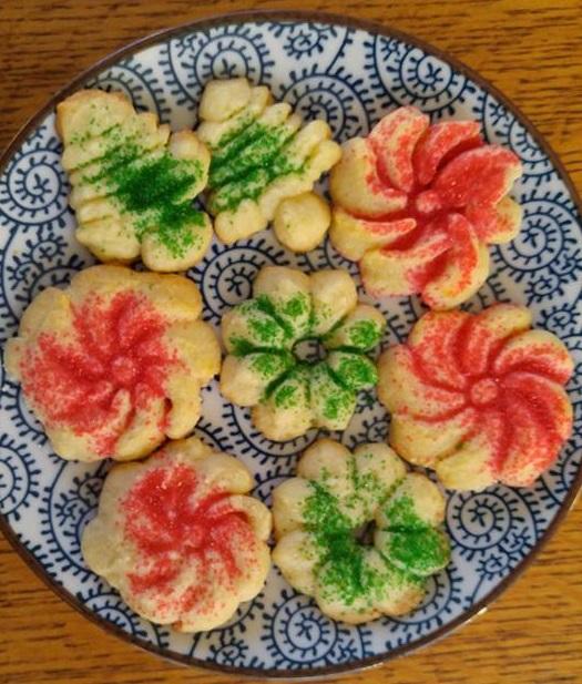 Sprtiz Cookies