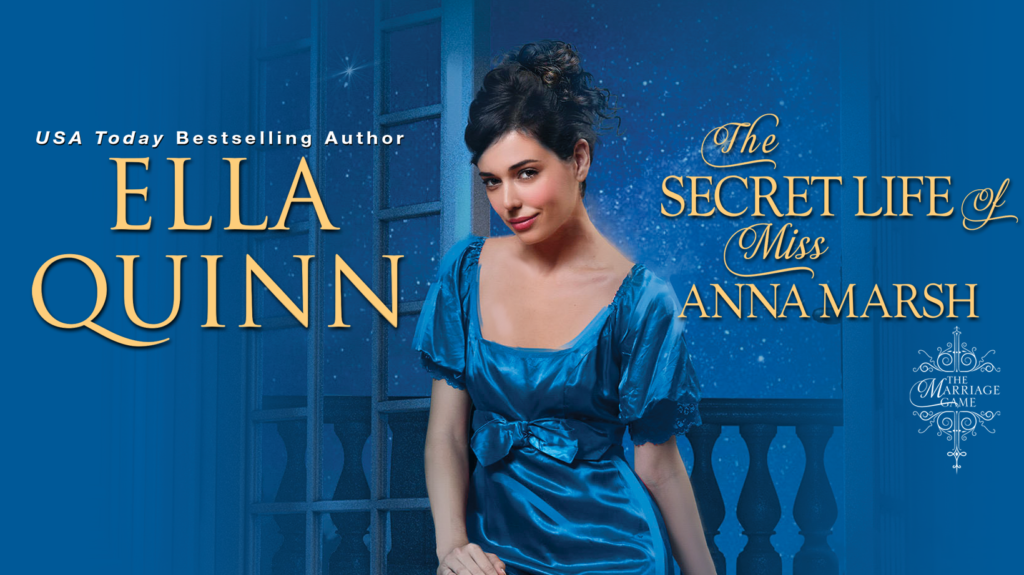 The Secret Life of Miss Anna Marsh Tour Banner