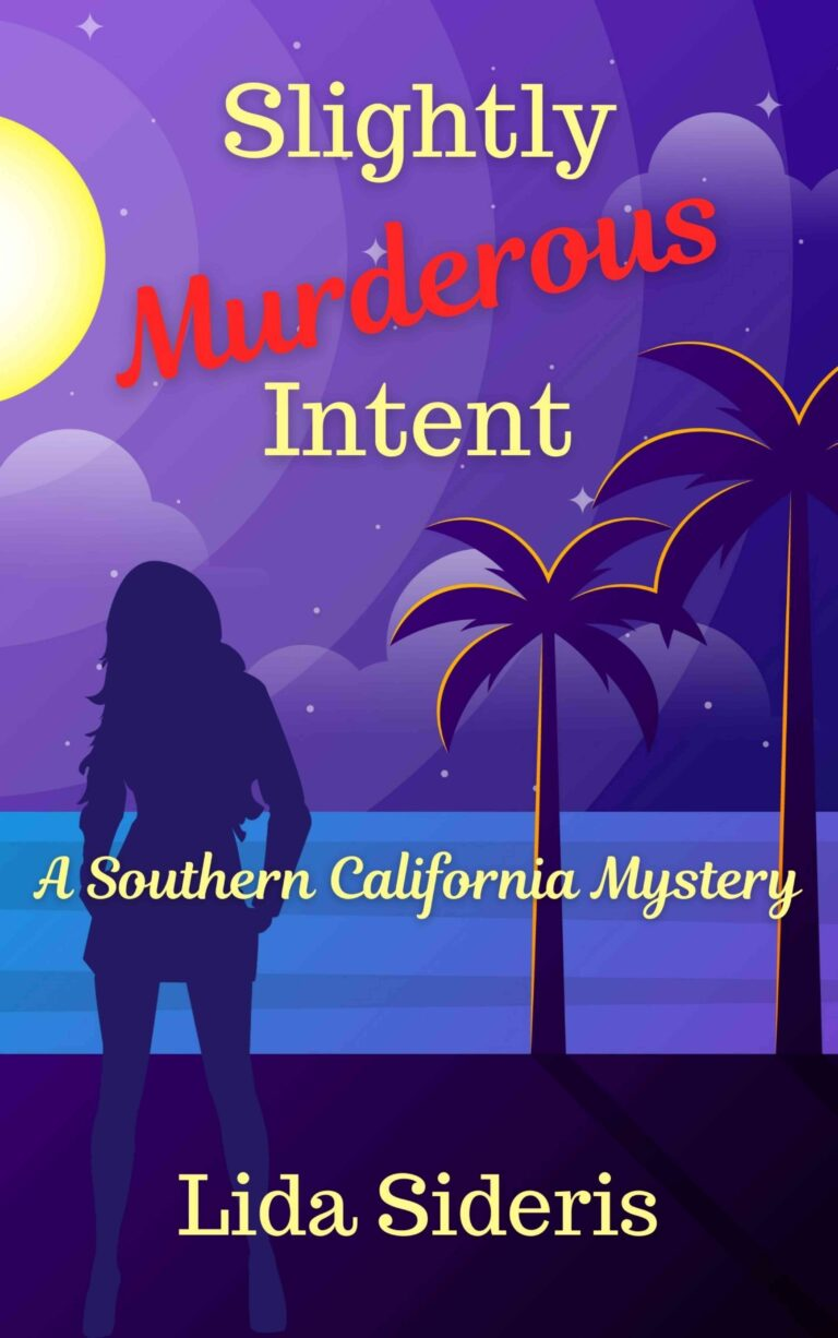 3.5 STAR REVIEW: SLIGHTLY MURDEROUS INTENT by Lida Sideris