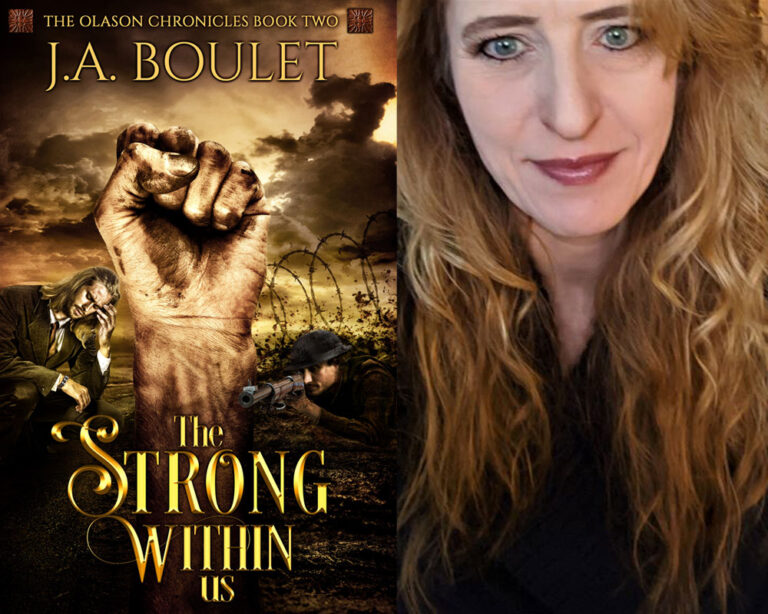 INTERVIEW: Interview With Author J.A. Boulet About Military Fiction Plus Giveaway!