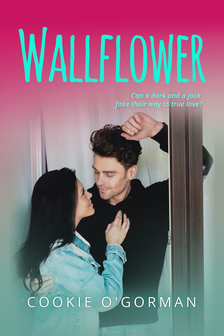 COVER REVEAL: WALLFLOWER by Cookie O'Gorman