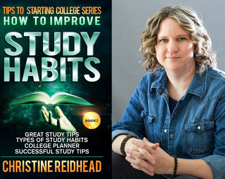 GUEST BLOG: How to Improve Study Habits by Christine Reidhead Plus Giveaway!