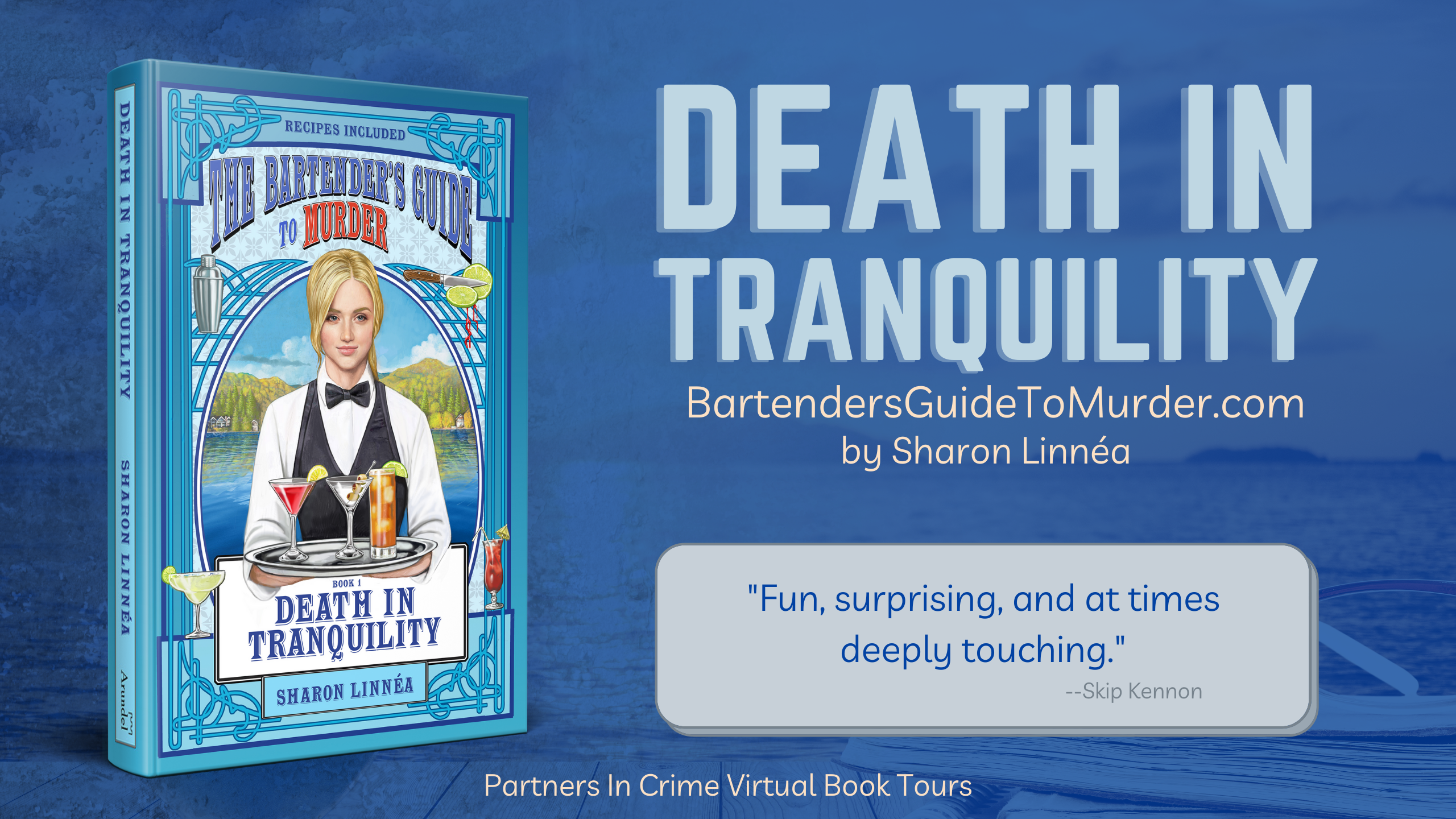 Death in Tranquility Banner