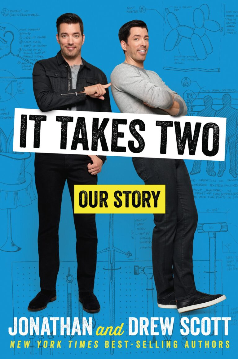 4 STAR REVIEW: IT TAKES TWO: OUR STORY by Jonathan Scott and Drew Scott Audiobook