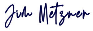 Jim Metzner Signature