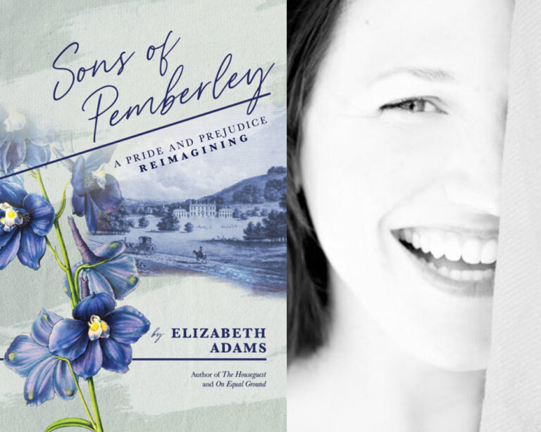 INTERVIEW: With Elizabeth Adams on SONS OF PEMBERLEY With Giveaway!