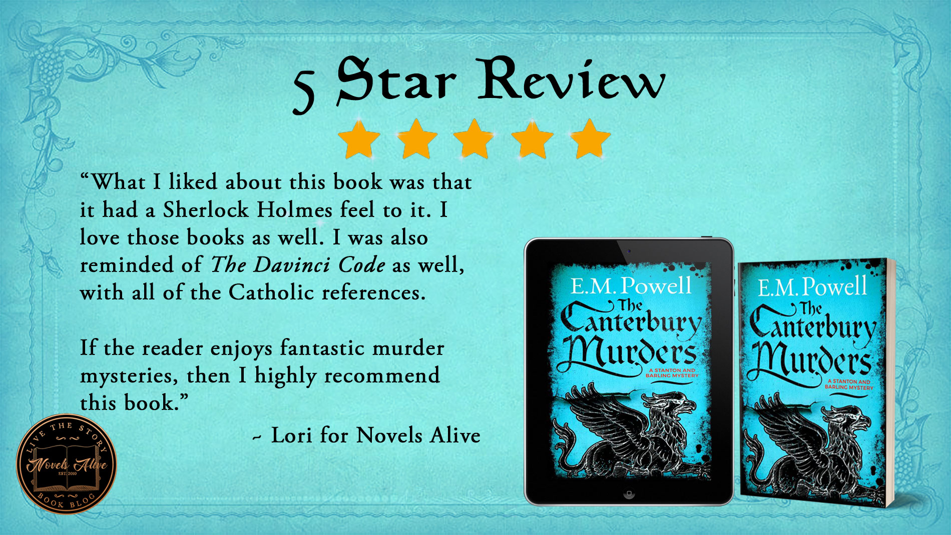 The Canterbury Murders-Review-FB