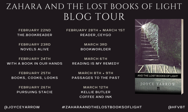 Zahara and the Lost Books of Light Banner