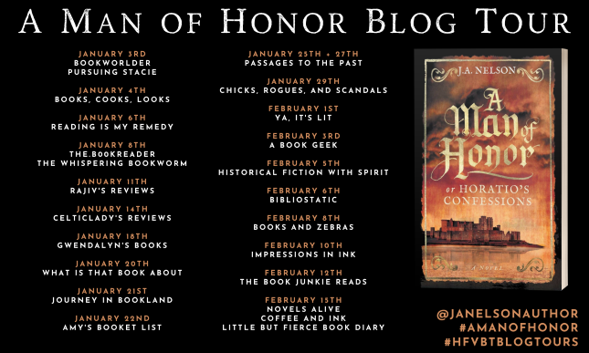 A Man of Honor_Blog Tour Banner