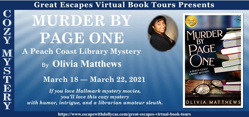 Murder By Page One Banner